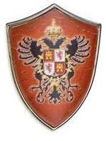 # 5284 Miniature Toledo Shield by Marto of Toledo Spain