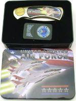 # RCPAPK4604US3LTTS U.S. Air Force Pocket Knife and Lighter Collector Set
