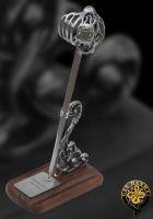# RCMH2307TS Paul Chen Cas Hanwei Scottish Basket Hilt Miniature Sword