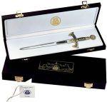 # 5530 Presentation Box for Damascene Sword Letter Openers by Marto of Toledo Spain
