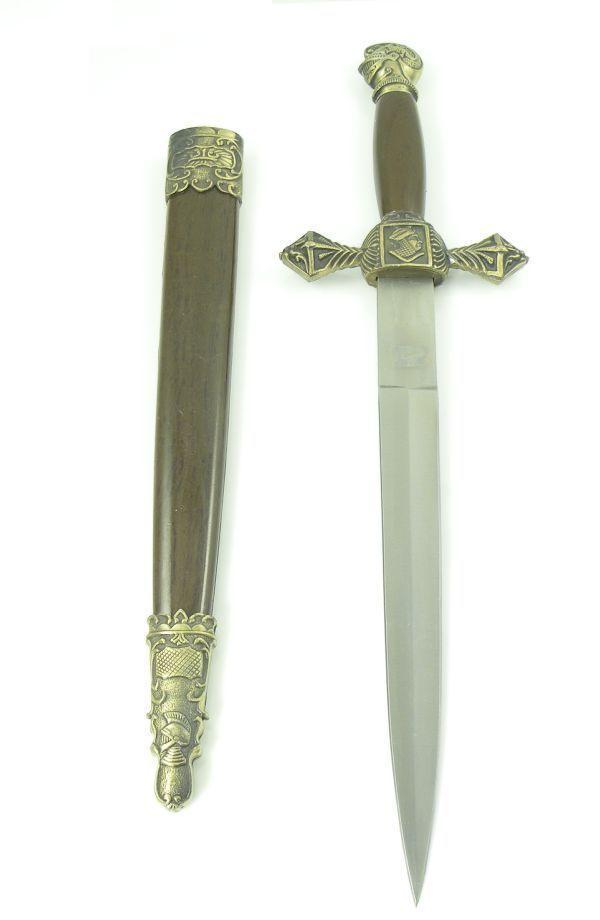 # RCKA2027TS Masonic Knights Templar Dagger