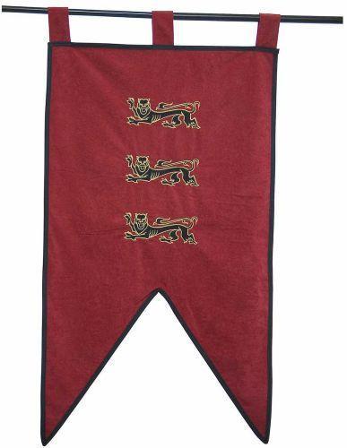 # MF1543 King Richard the Lionheart Pennant by Marto of Toledo Spain