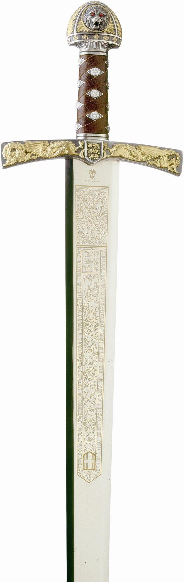 # 753 Richard the Lion Heart Sword by Marto of Toledo Spain