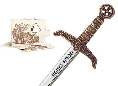 # 5207.3 Miniature Robin Hood Sword by Marto of Toledo Spain - Bronze
