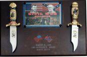 # RCSZ210478TS Civil War Generals Lee and Grant Bowie Knives