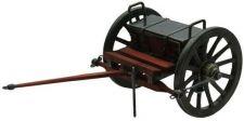 # RCSZ210492TS Miniature Civil War Cannon Limber