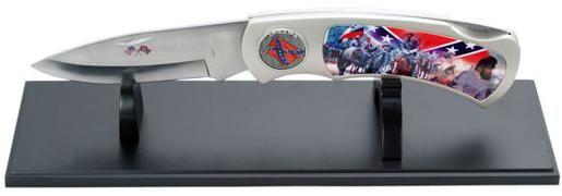 # RCSZ210513TS CSA Army Jumbo Pocket Knife and Stand