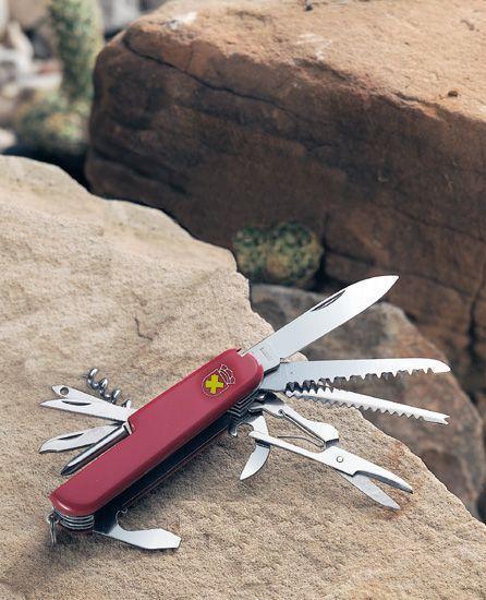 # RCSZ212830TS Camper 15 Function Multi-blade Pocketknife