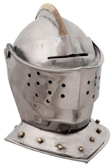 # RCSZ230942TS Miniature Burgonet Knight Helmet