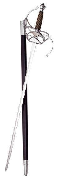 # RCSZ910916TS Flamberge Kris Rapier Sword