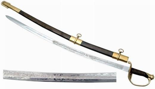# RCSZ910918TS United Sates of America Saber Sword