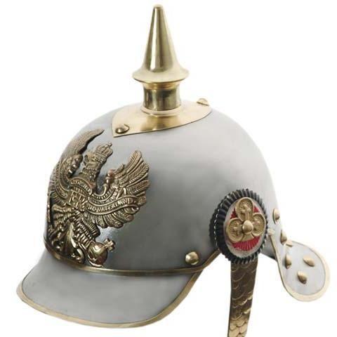 # RCSZ910946TS German Pickelhaube Helmet Full Size