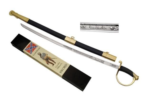 # RCSZ926708TS CSA Confederate States of America Cavalry Sword