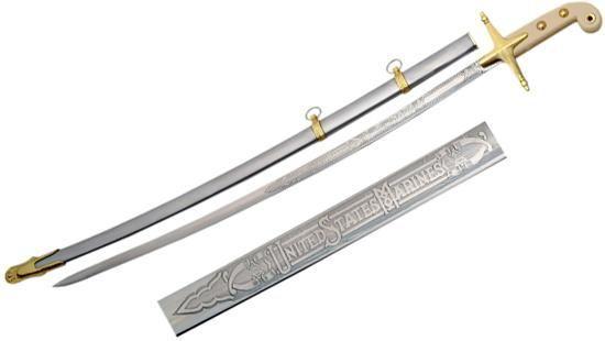 # RCSZ926766TS U.S. Marine Corps Officer's Mameluke Sword