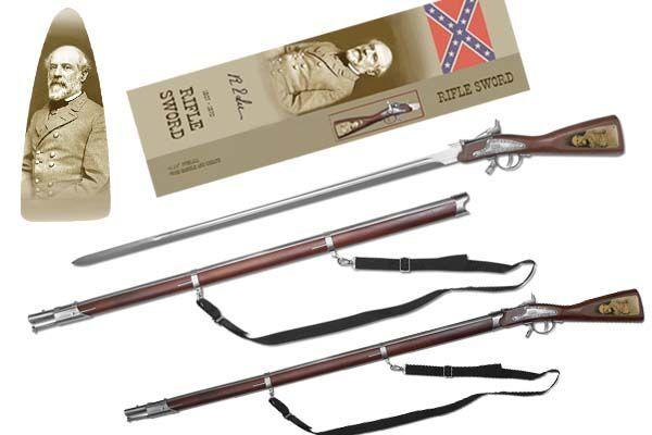# RC208629TS General Robert E. Lee Rifle Sword