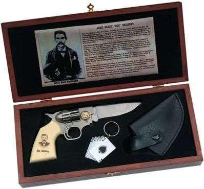 # RCSZMC2087TS Doc Holiday Gun Knife Set