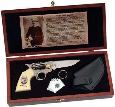 # RCSZMC2089TS Bat Masterson Gun Knife Set