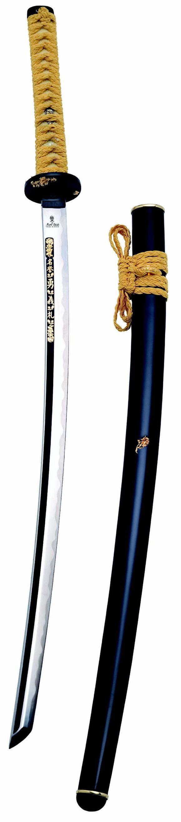 # RCMAAC0500TS Samurai Katana Sword of Kamakura by Marto of Toledo Spain - LIMITED EDITION