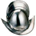 # 920 Spanish Round Morion Helmet by Marto of Toledo Spain Helmet Medieval