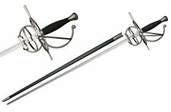 Swept Hilt Renaissance Rapier Sword