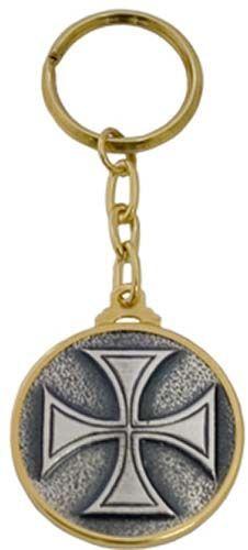 # LL006 Templar Knight Cross Keychain by Marto of Toledo Spain