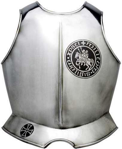 # 945.4 Templar Knight Armor Breastplate with Templar Seal by Marto of Toledo Spain