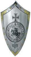 # 965.1  Templar Knight Cross and Seal Shield by Marto of Toledo Spain