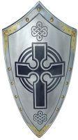 # 965.0 Templar Knight Scottish Cross Shield by Marto of Toledo Spain