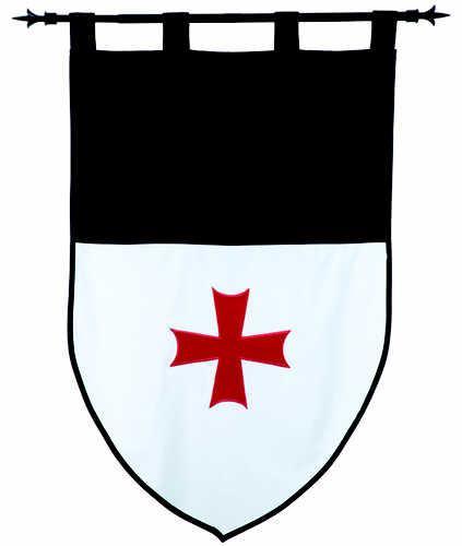 # MF1527 Templar Knight Order of the Templars Pennant by Marto of Toledo Spain