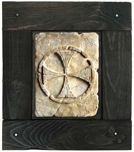 # HH100 Frame for Templar Tile by Marto of Toledo Spain