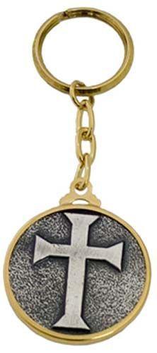 # LL003 Templar Knight Teutonic Cross Keychain by Marto of Toledo Spain