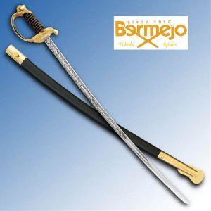 Certified USMC NCO Saber Sword from Bermejo Toledo Spain