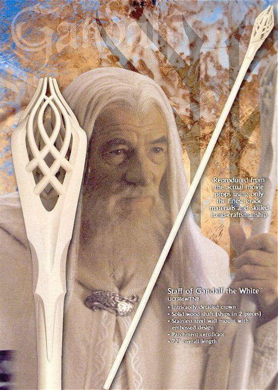 # RCUC1386WTNBTS Staff of Gandalf the White
