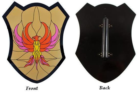 # RC300VMTS Wooden Phoenix Shield