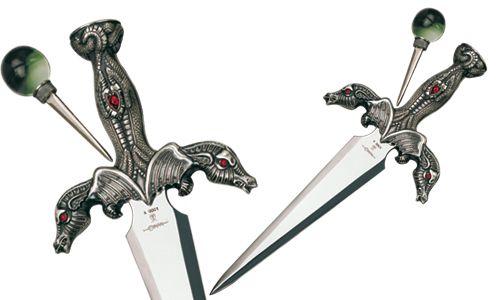 # CONAN026 Conan the Barbarian Temptress Dragon Dagger by Marto of Toledo Spain