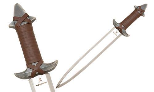 # CONAN023 Dagger of Conan the Barbarian by Marto of Toledo Spain - Silver