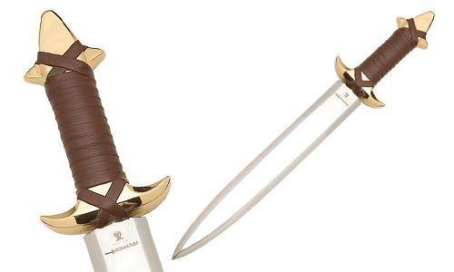 # CONAN022 Dagger of Conan the Barbarian by Marto of Toledo Spain - Gold