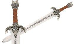 # CONAN114 Conan the Barbarian Father Sword by Marto of Toledo Spain - Silver