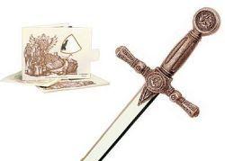 by Marto Toledo Spain CONAN052S Bronze Miniature Sword of Conan the Barbarian