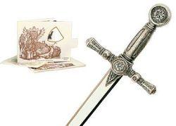 Miniature Sword and Sword Letter Opener - Toledo Swords