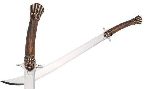# CONAN105 Conan the Barbarian Valeria Sword by Marto of Toledo Spain - Bronze